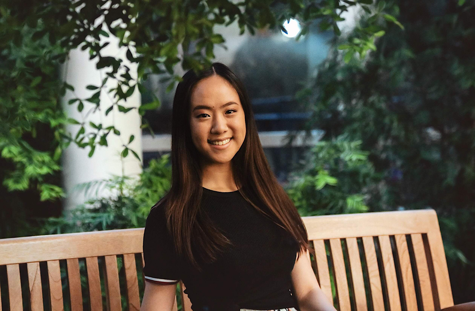 Portrait of Kelly Ni