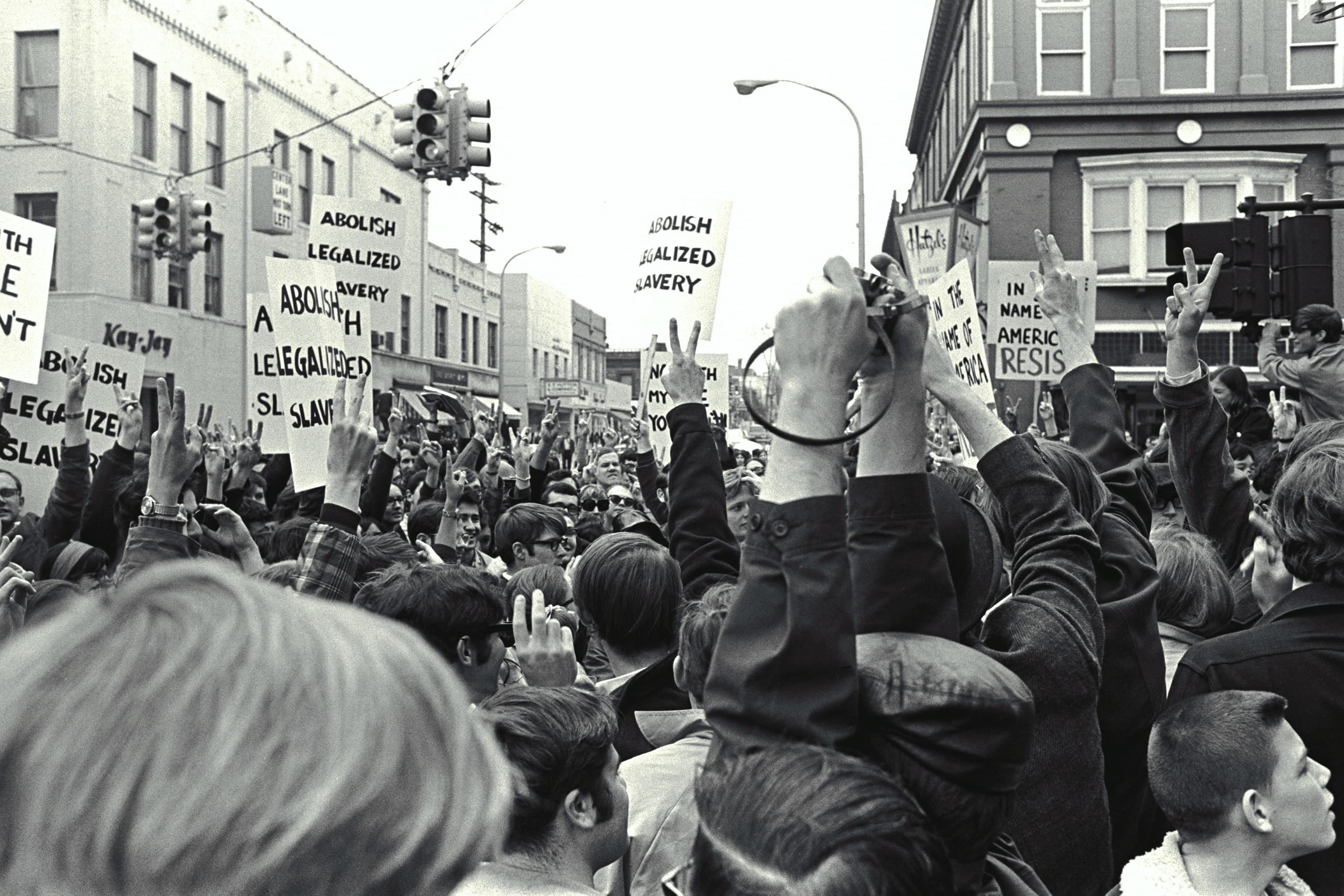 State Stree protest 1960s