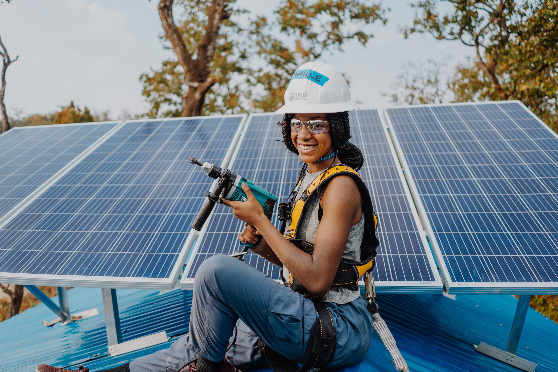 Camille Burke Solar Panel