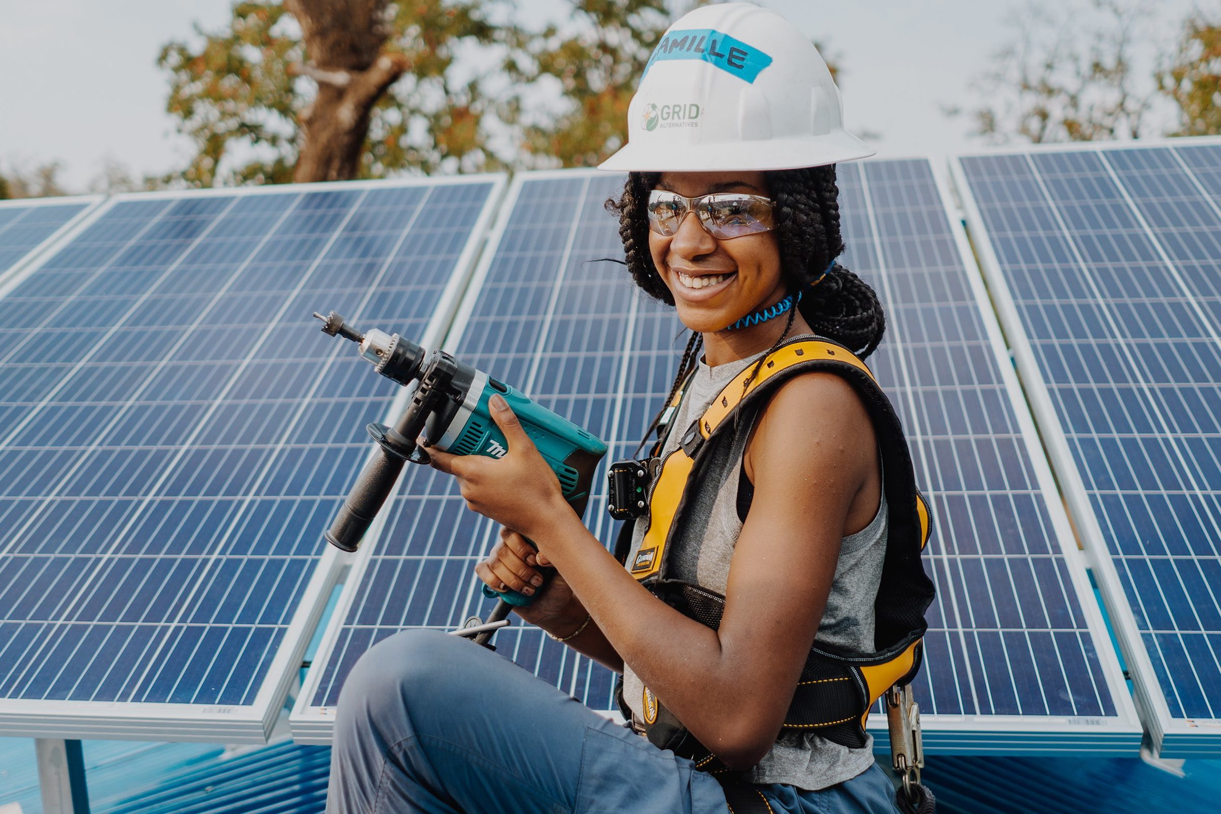 Building community through clean energy with GRID Alternatives
