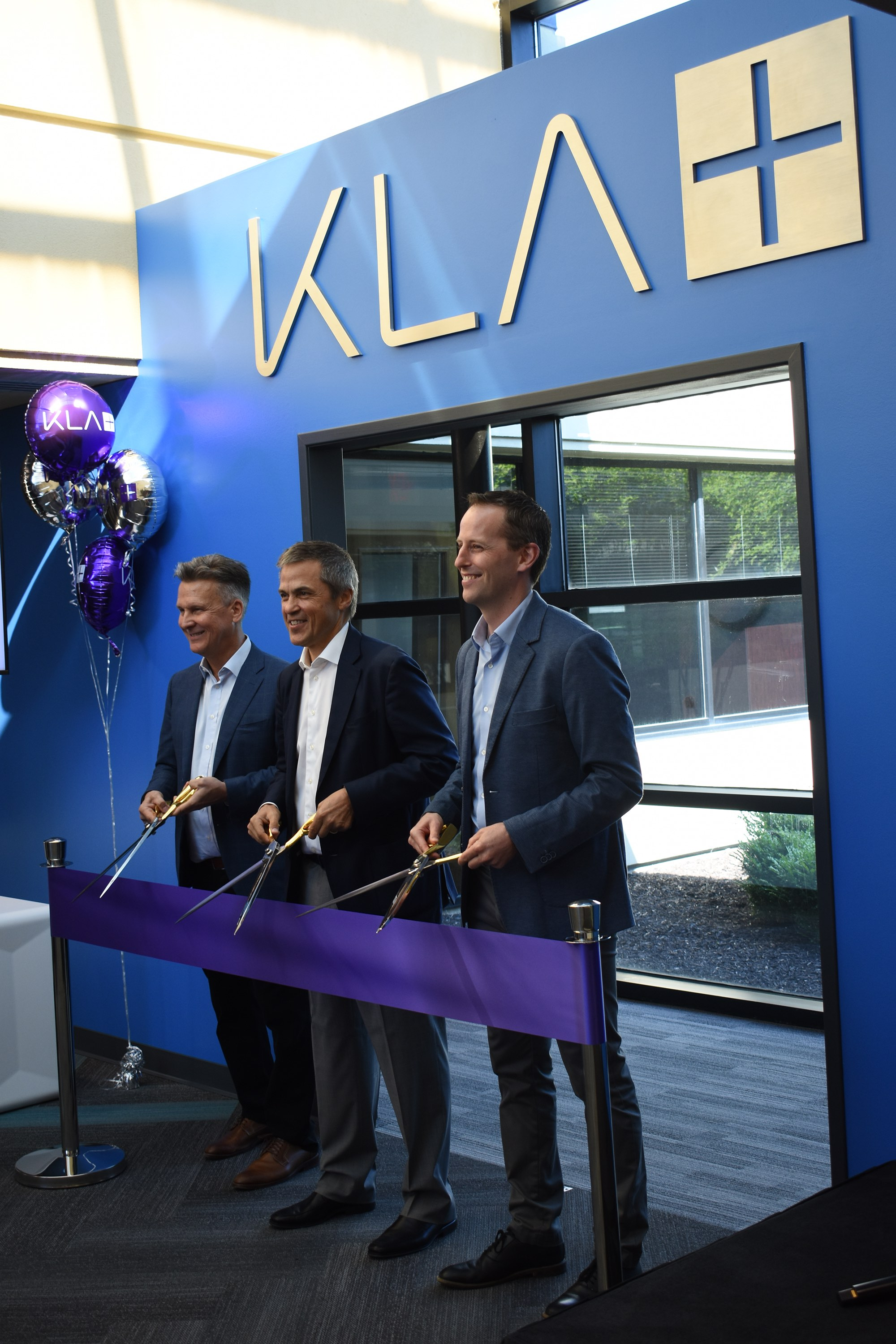KLA ribbon cutting