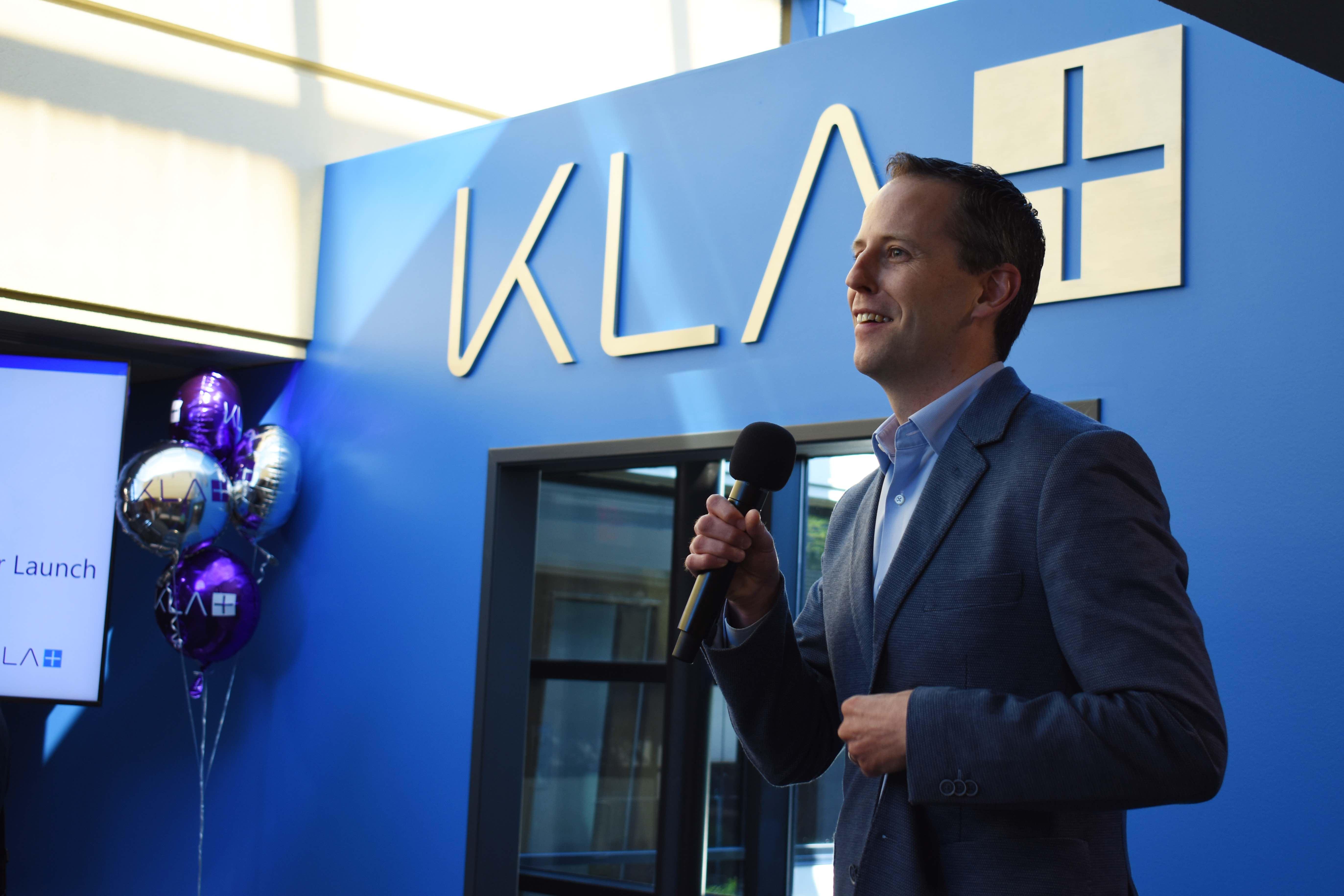 John McLaughlin, KLA's Ann Arbor site leader.