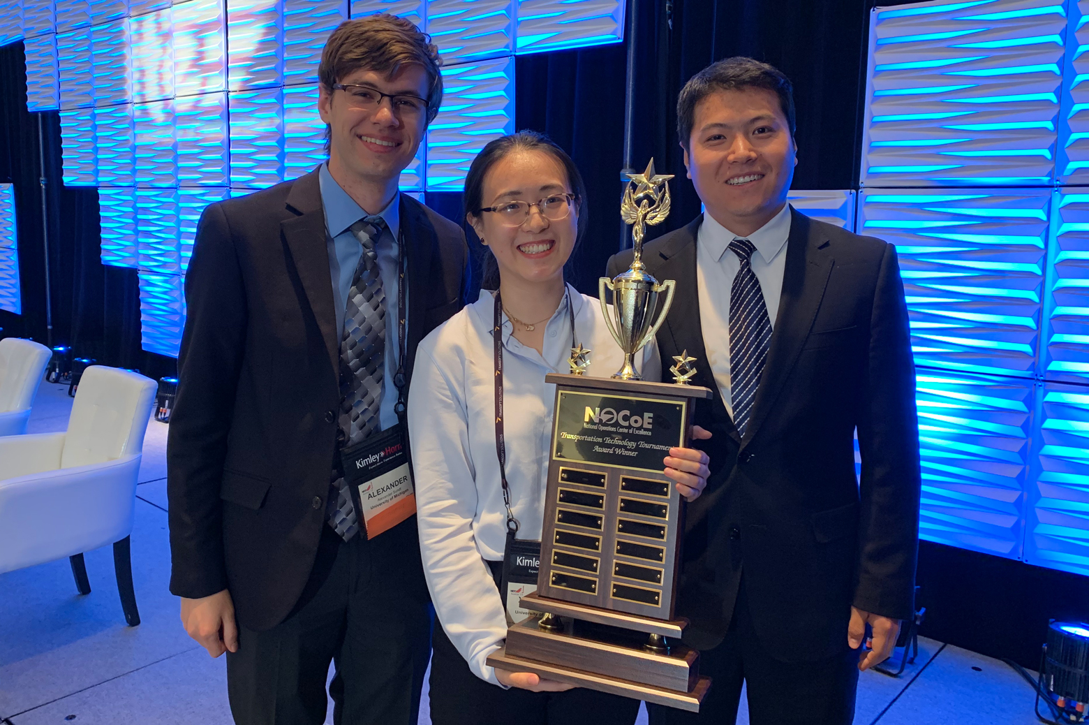 University of Michigan student team wins National Transportation
