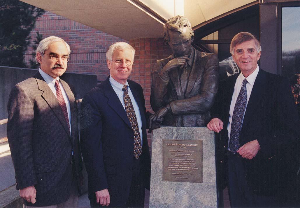 Shannon statue