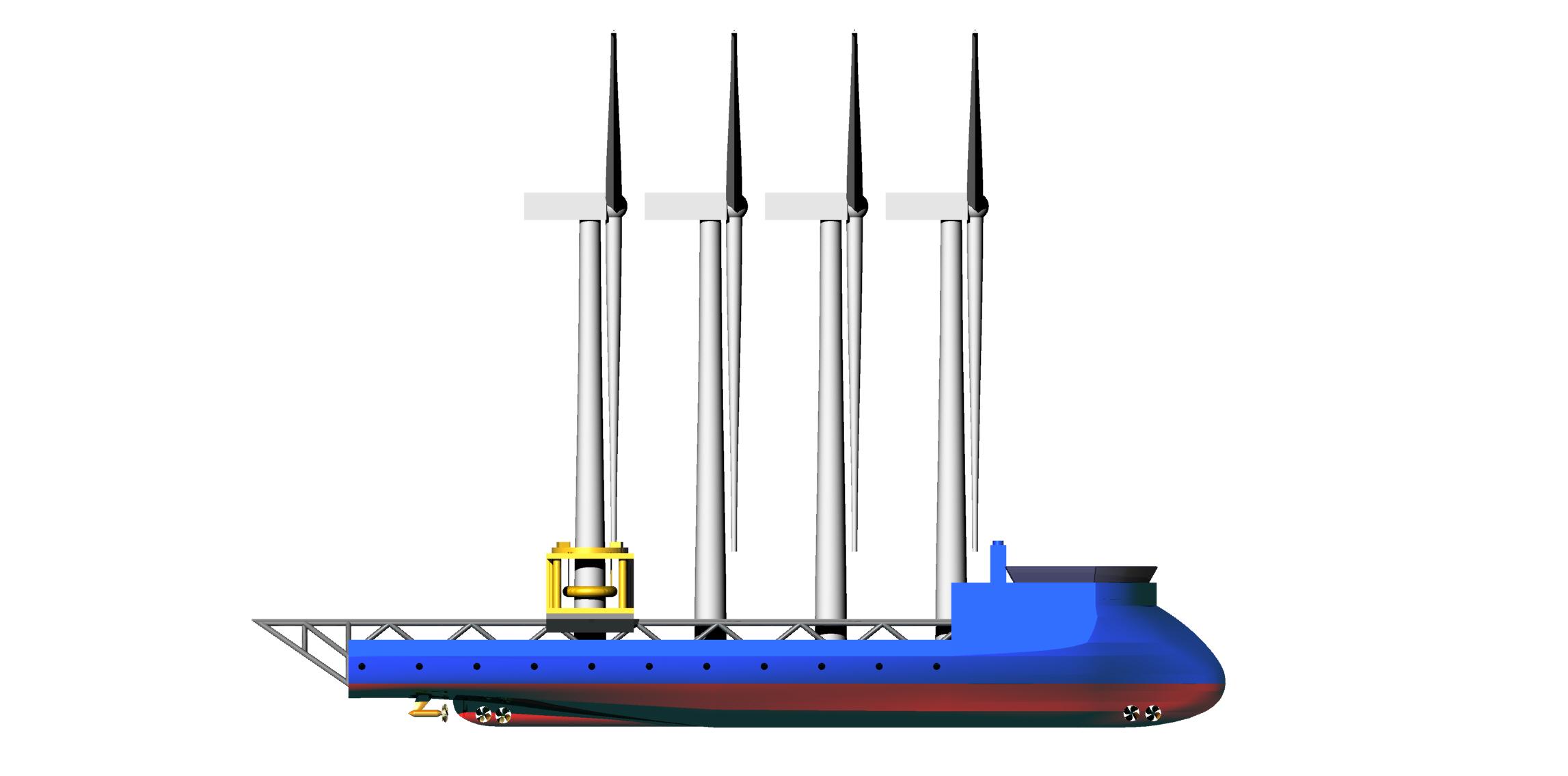 Blueship1 Wind Turbine Installation Vessel