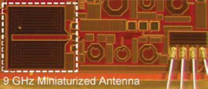 A 0.3mm2 Miniaturized X-Band OnChip Slot Antenna in 0.13mm CMOS