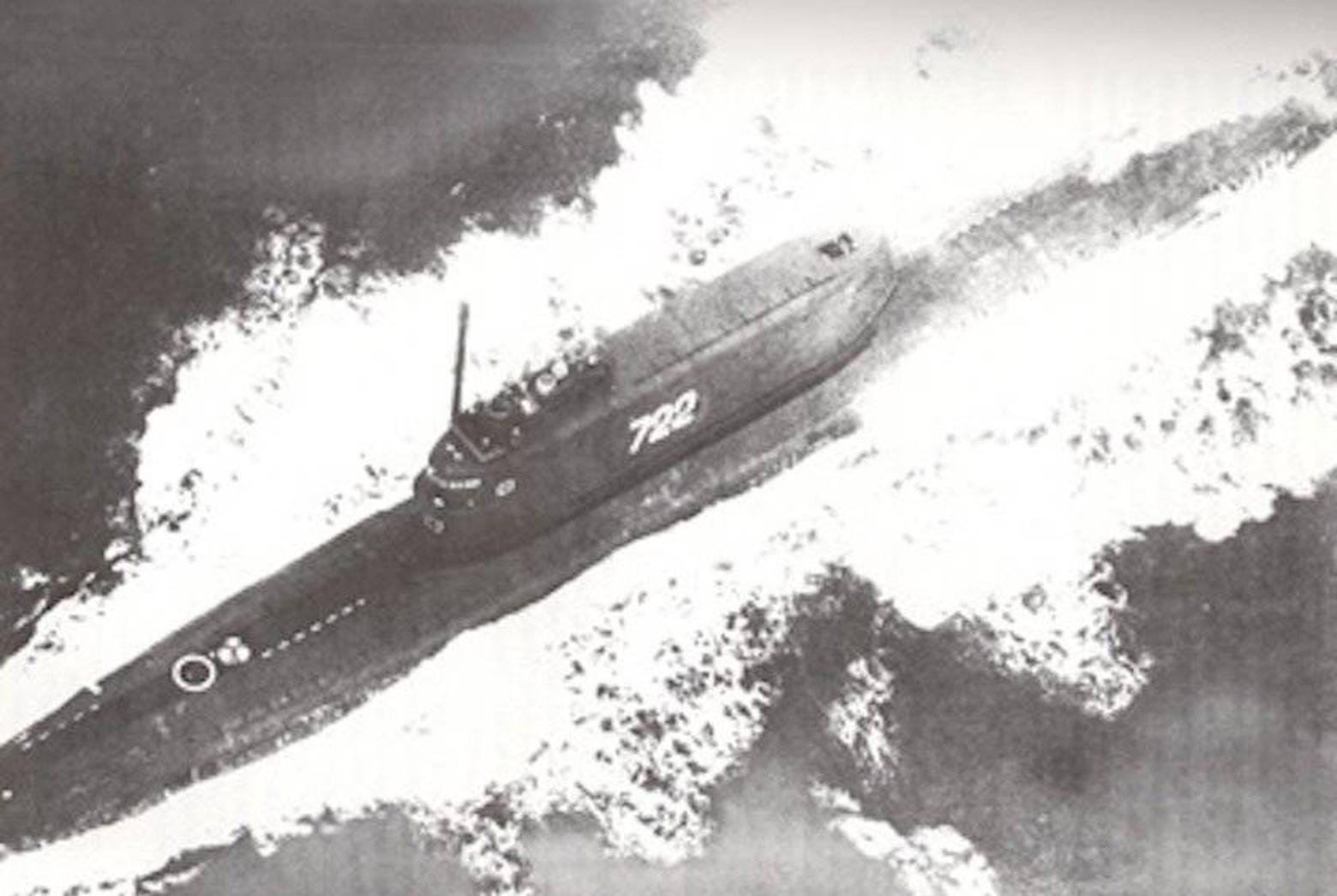 The submarine K-129