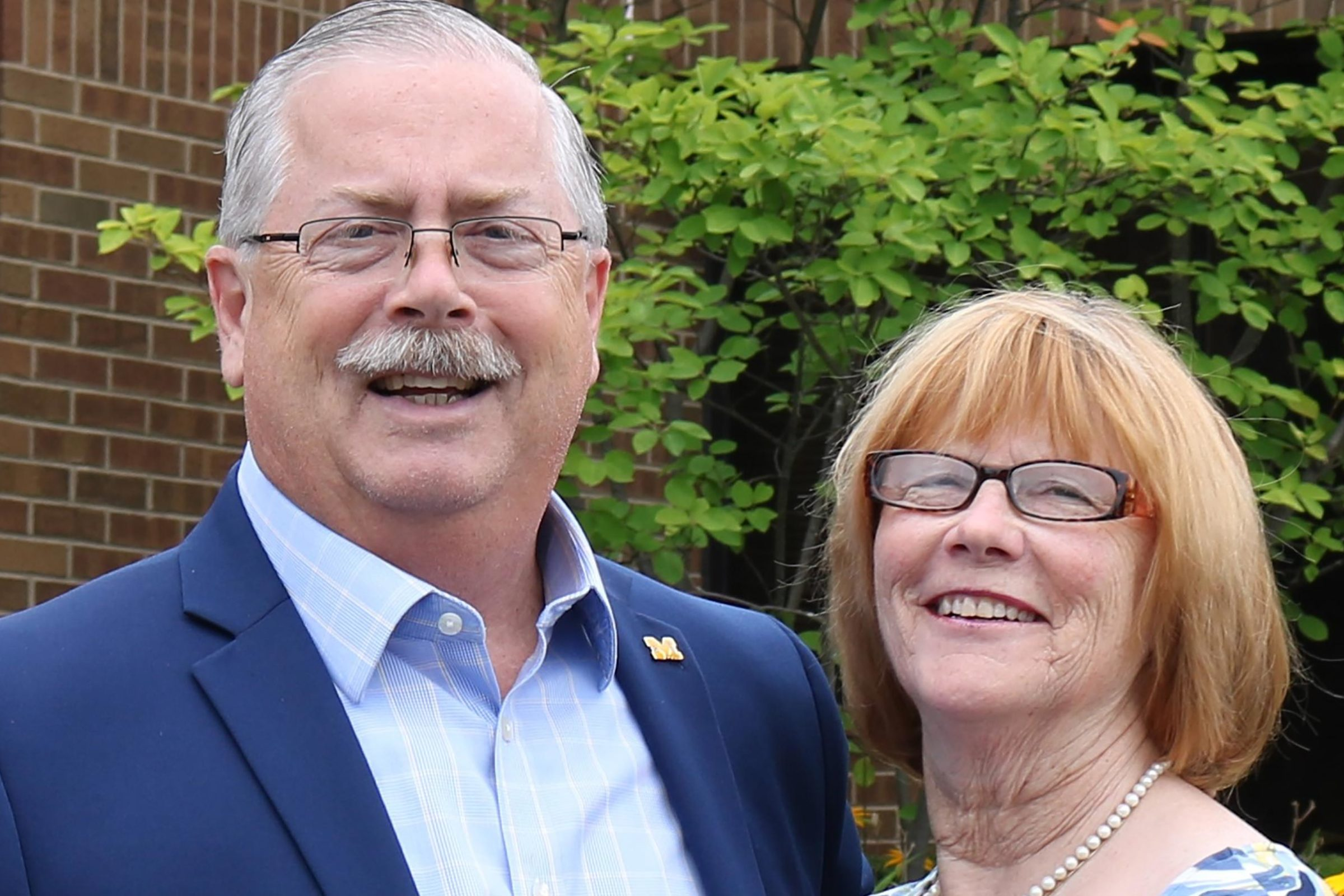 Carol Ann and Jim Fausone selected for David B. Hermelin Award