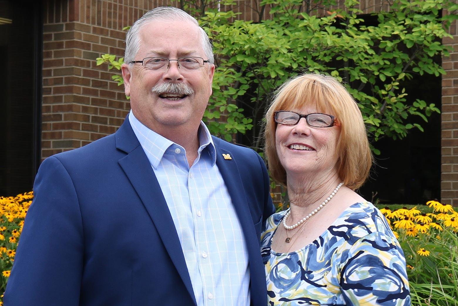 Jim and Carol Ann Fausone