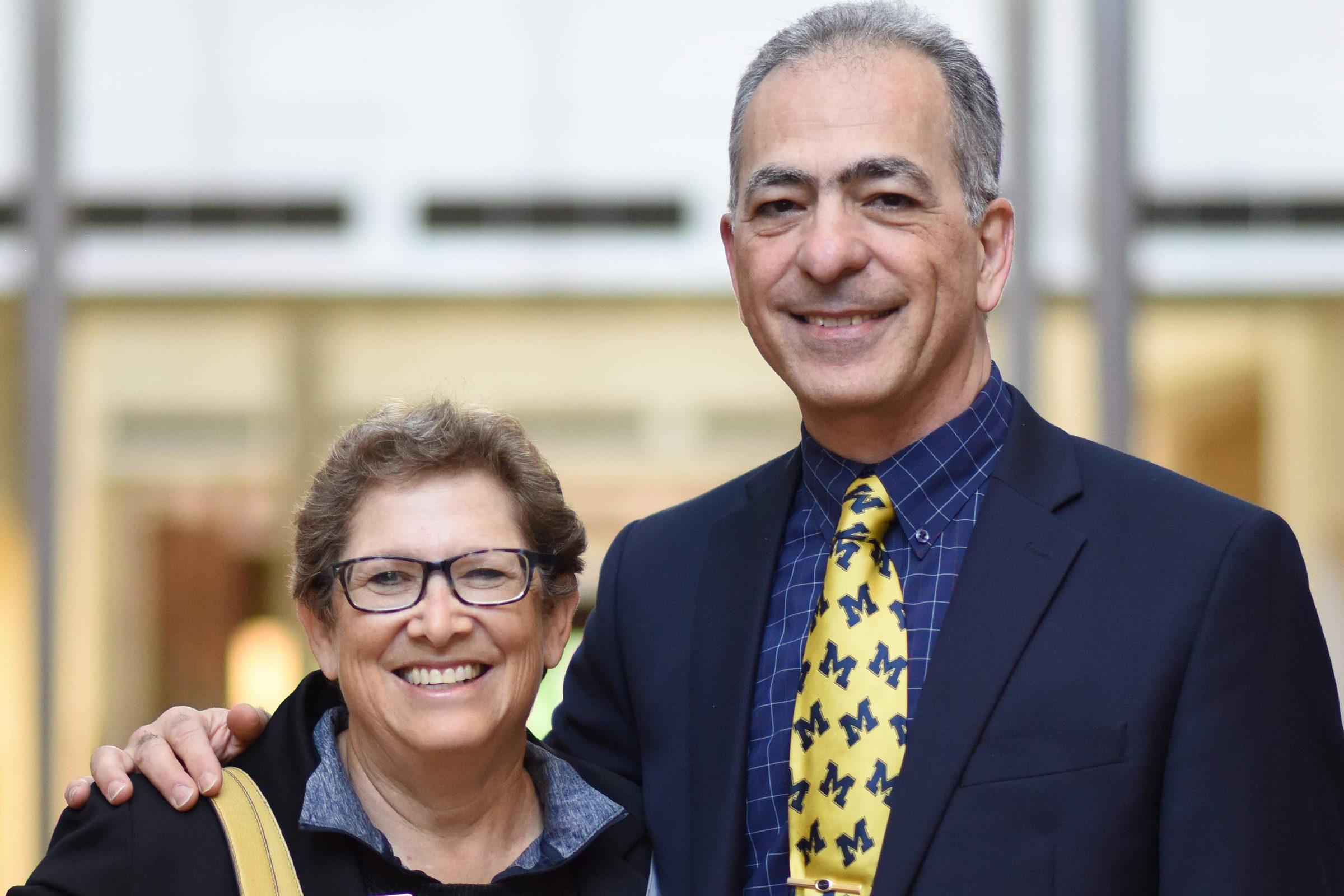 Karen Fireman and Khalil Najafi