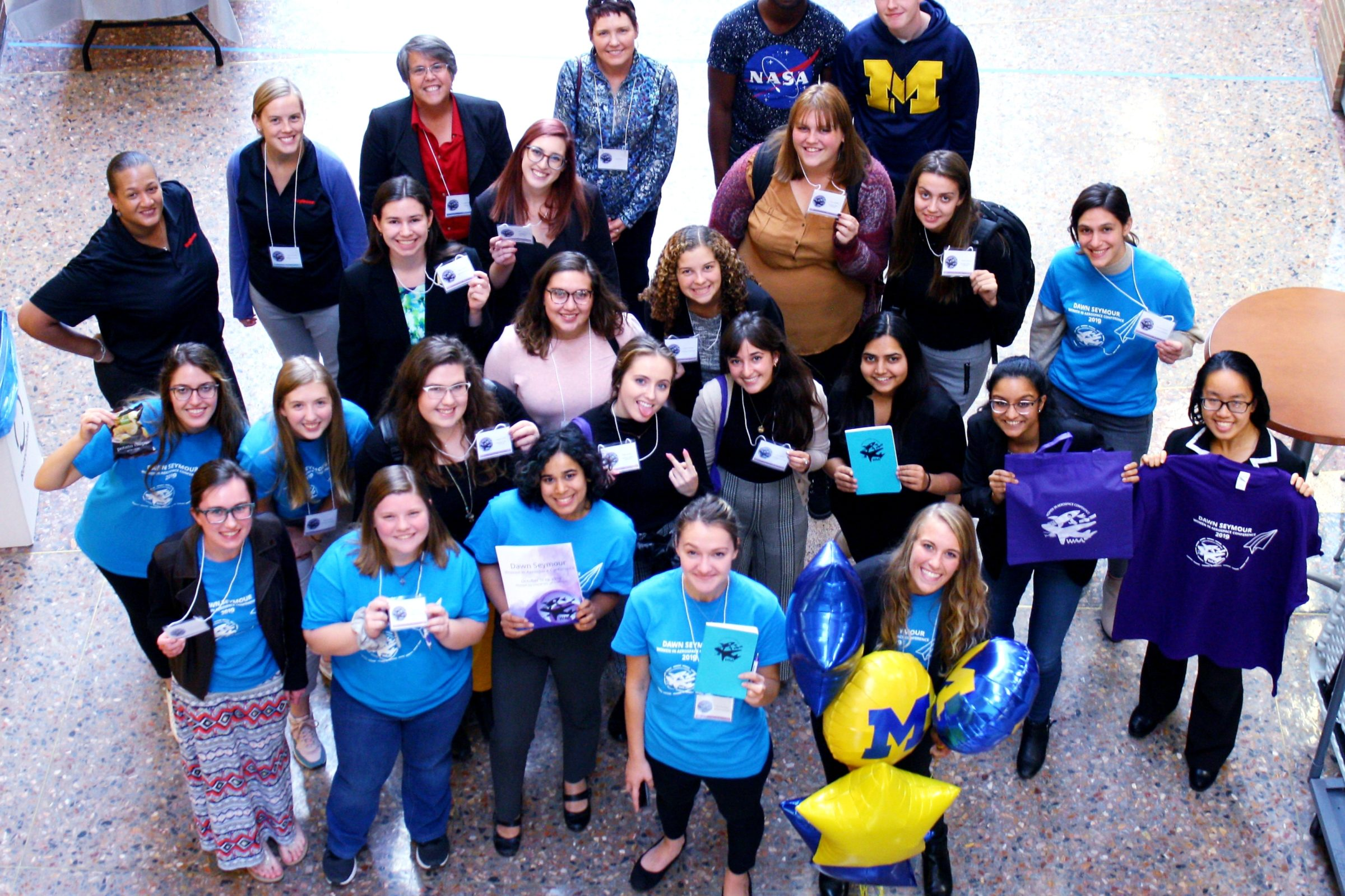 Women in Aeronautics and Astronautics host Dawn Seymour Women in Aerospace Conference