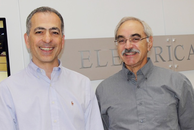 Prof. Najafi and Prof. Neuhoff