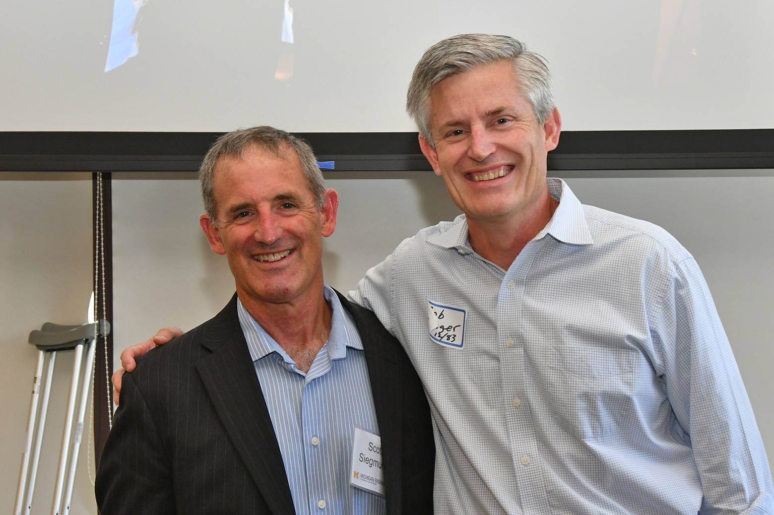 Image of Scott Siegmund and Bob Ranger.