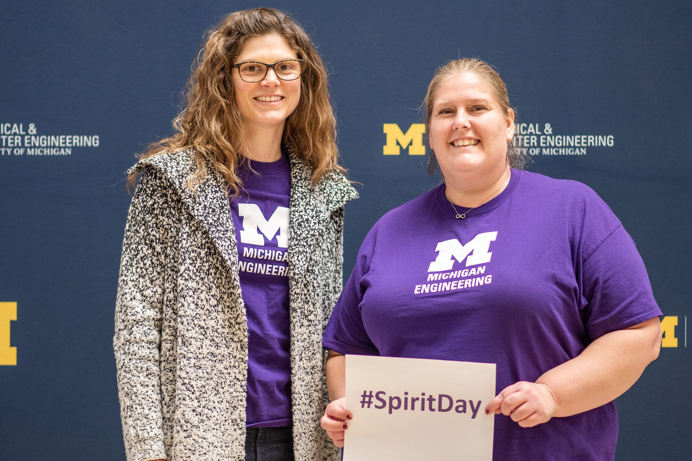 Willingale and Thornton at Spirit Day