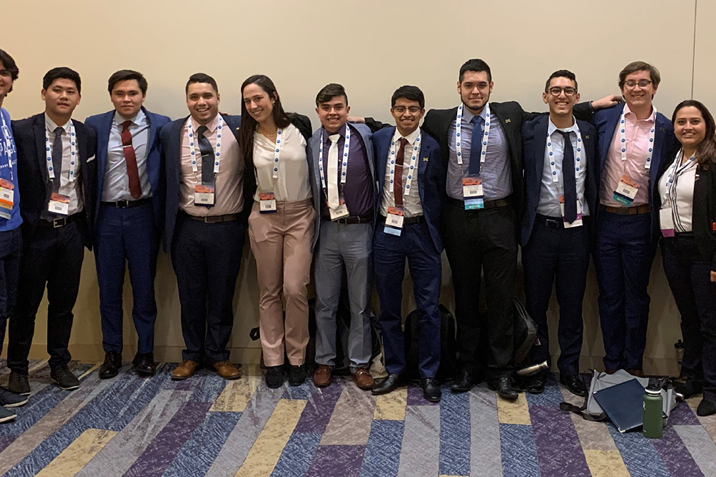 Group photo of SHPE members at National Convention 2019.