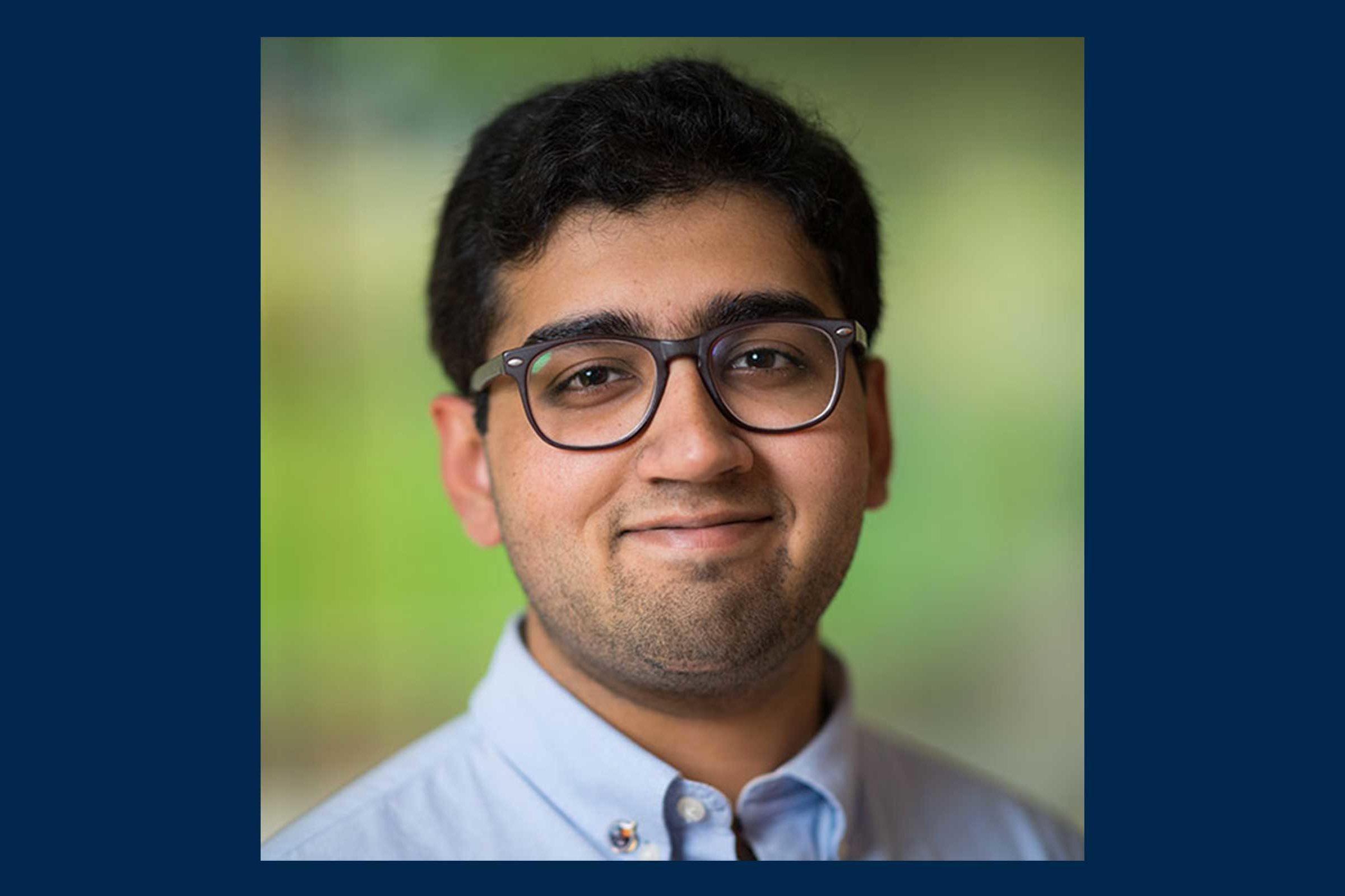 Climate and Space PhD student Agnit Mukhopadhyay