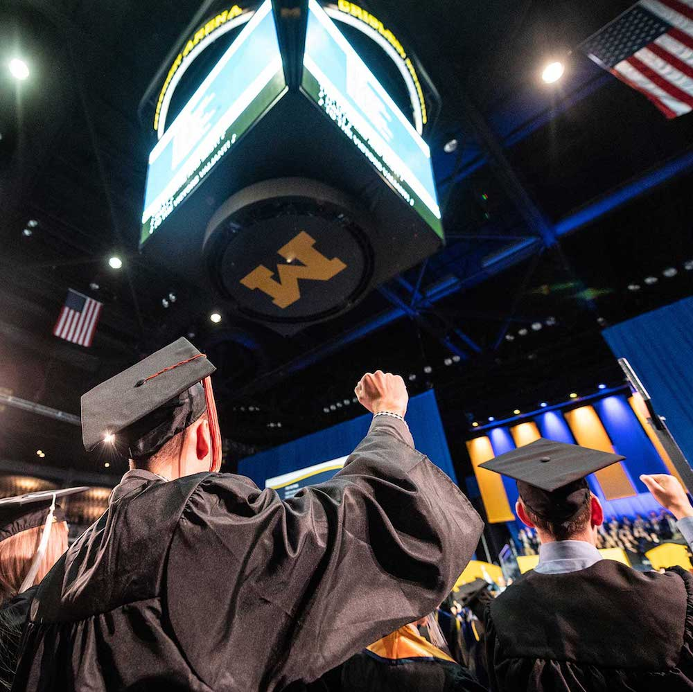 Graduates at U-M December 2019 commencement
