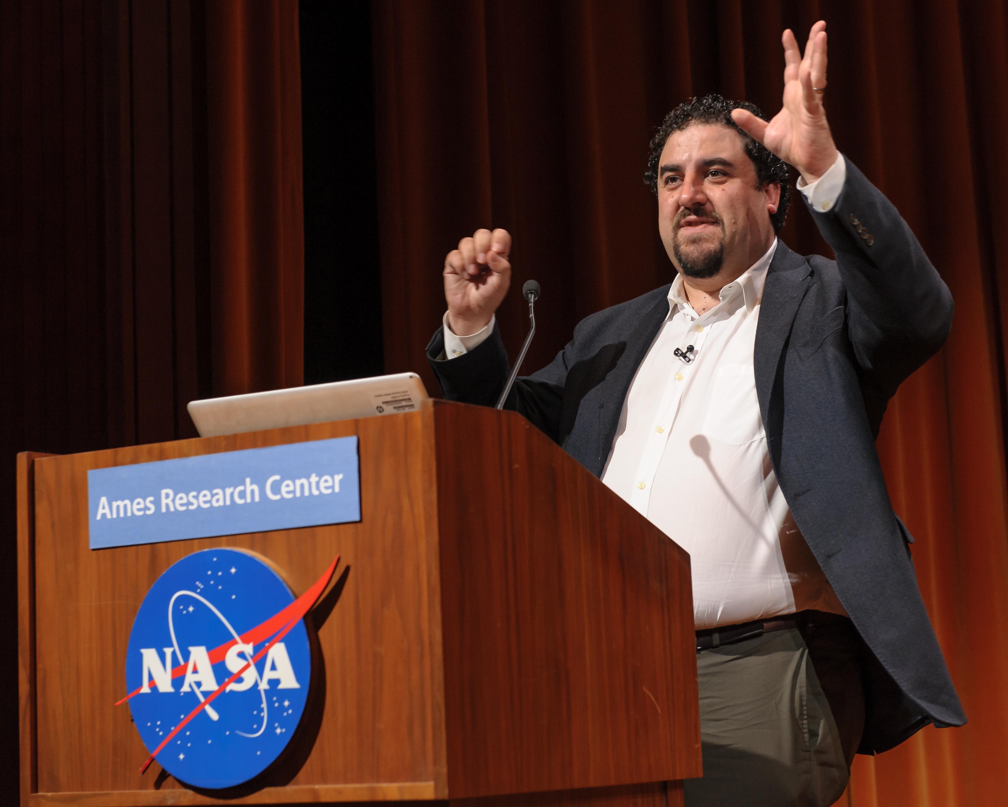 Climate & Space Professor Justin Kasper