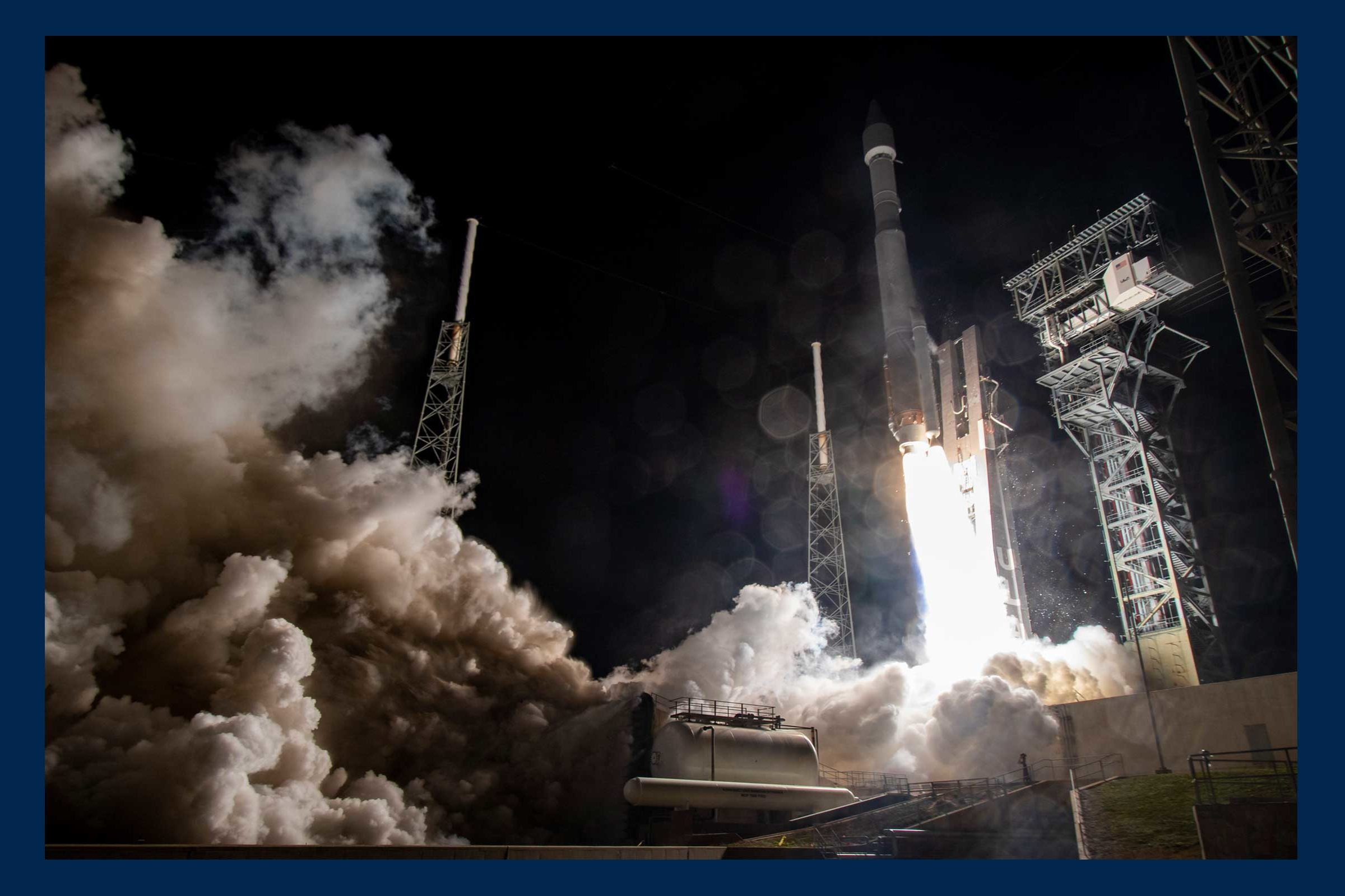 Photo of Solar Orbiter launch from Cape Canaveral. Credit: ULA