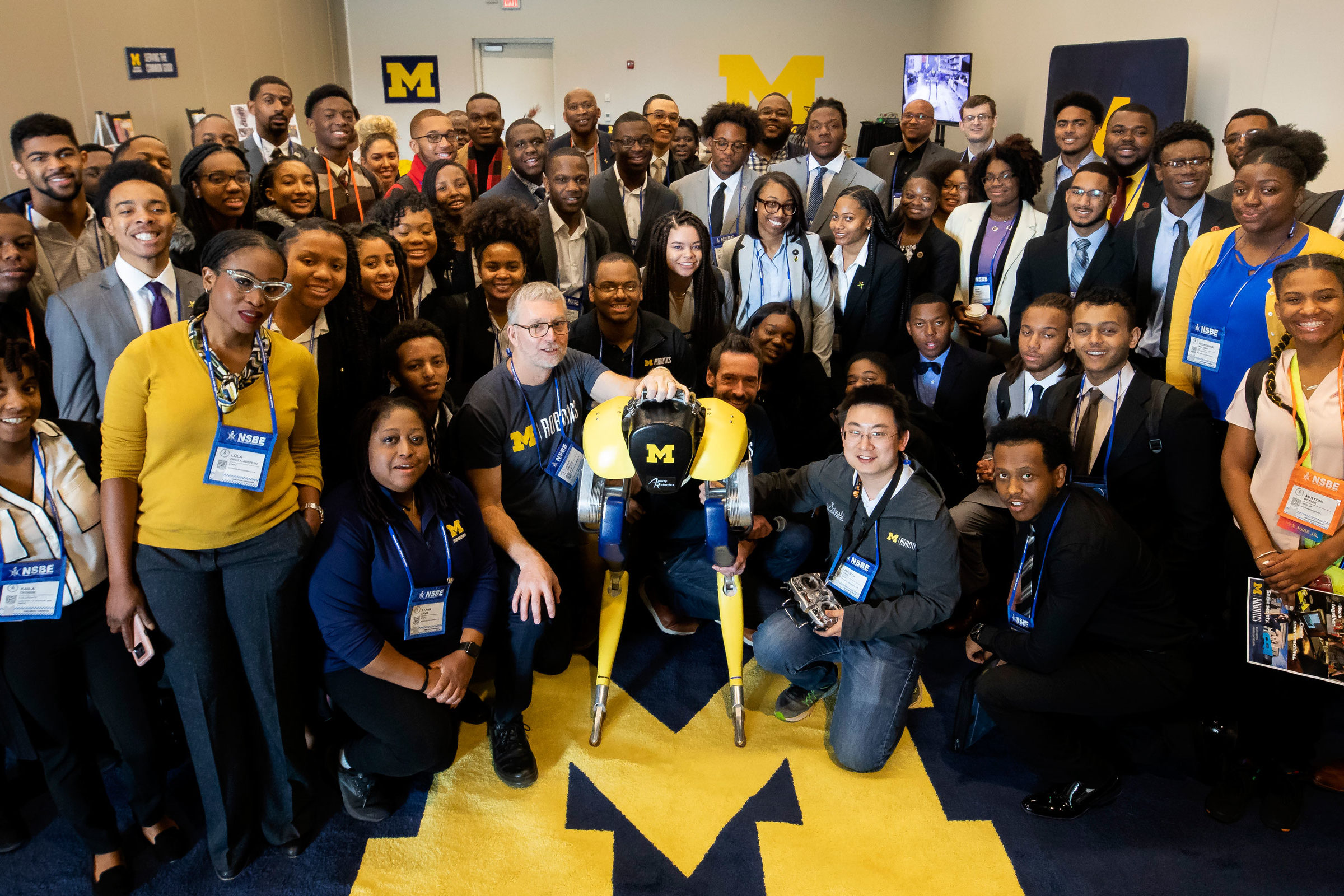 Group poses at The 45th NSBE Annual Convention