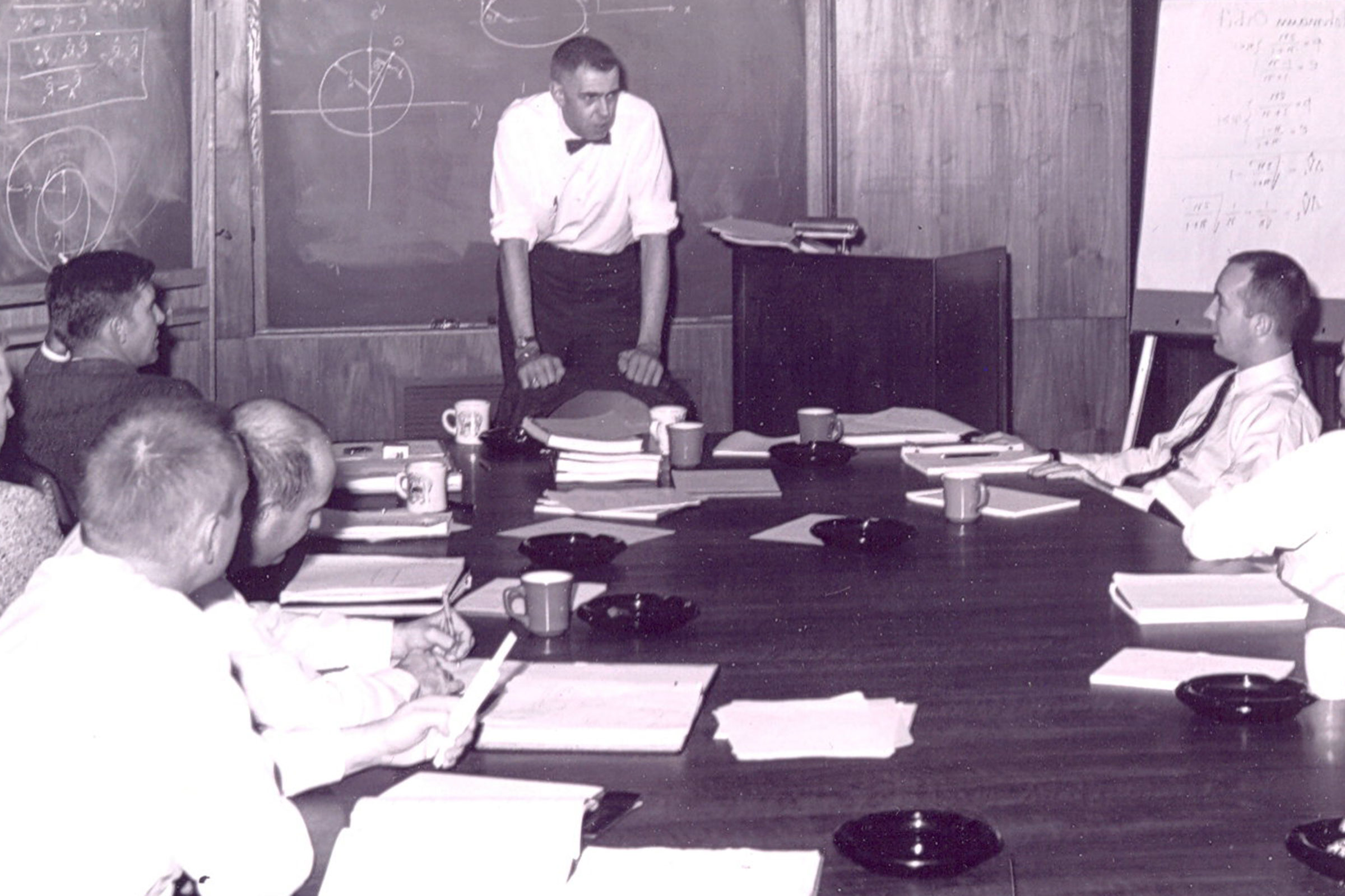 Prof. Harm Buning teaching at NASA