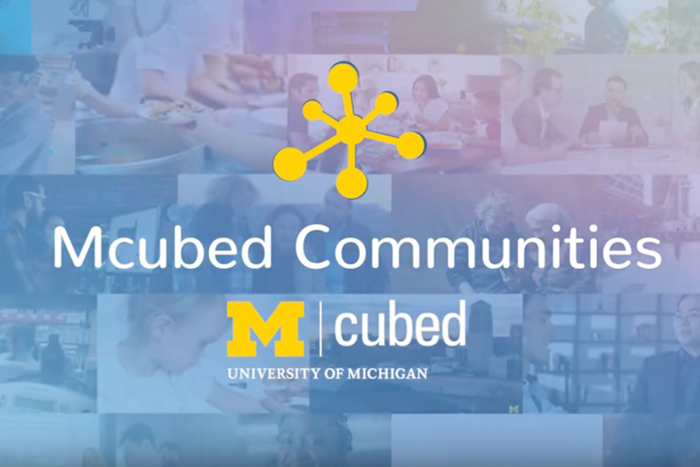 Mcubed Communities launched this week