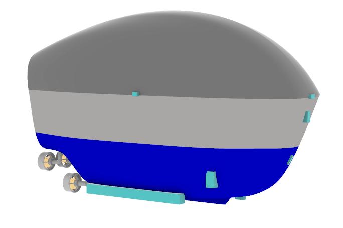 Oceanus: An Autonomous Space Research Vessel