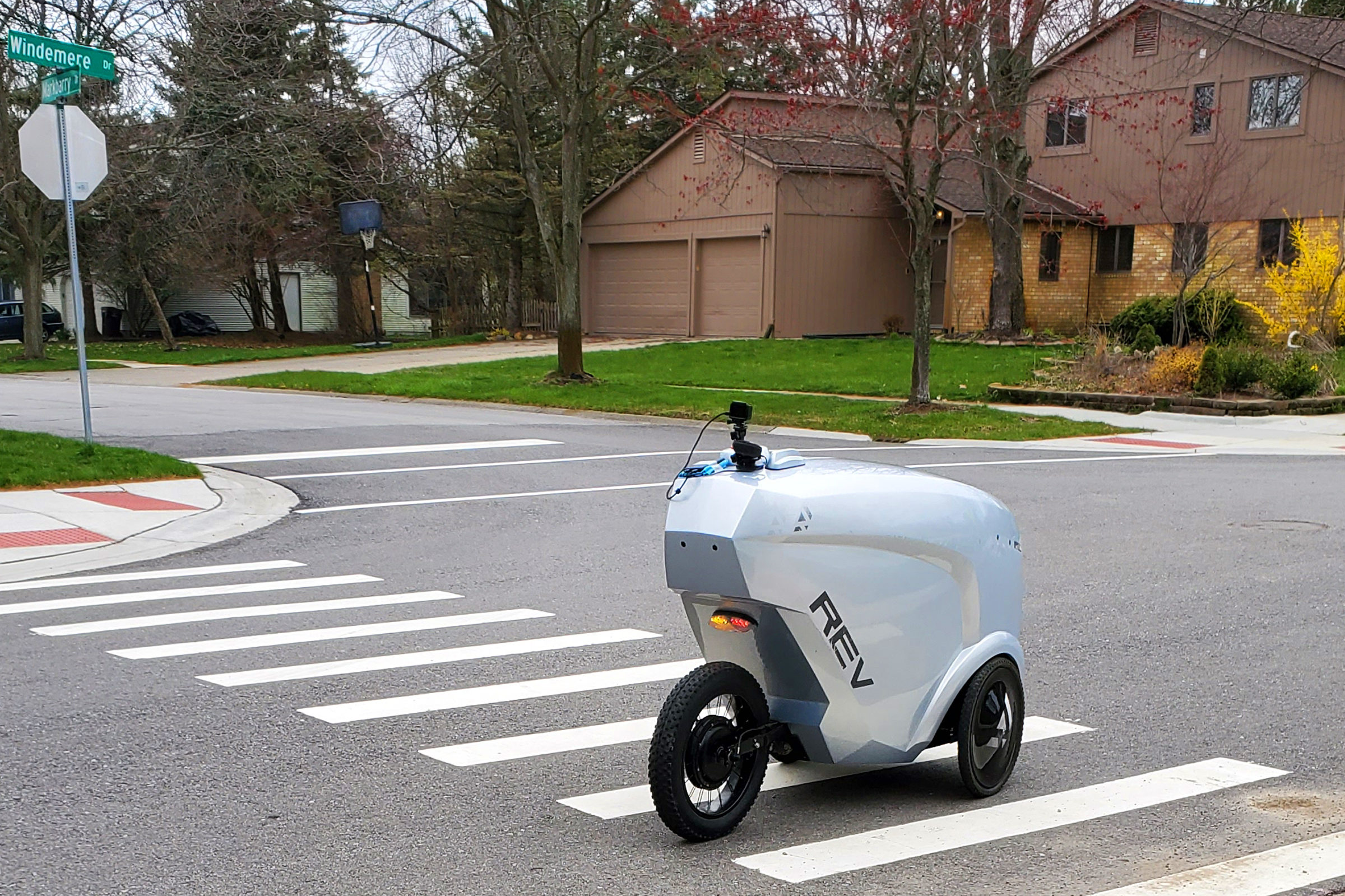 REV-1 delivery robot