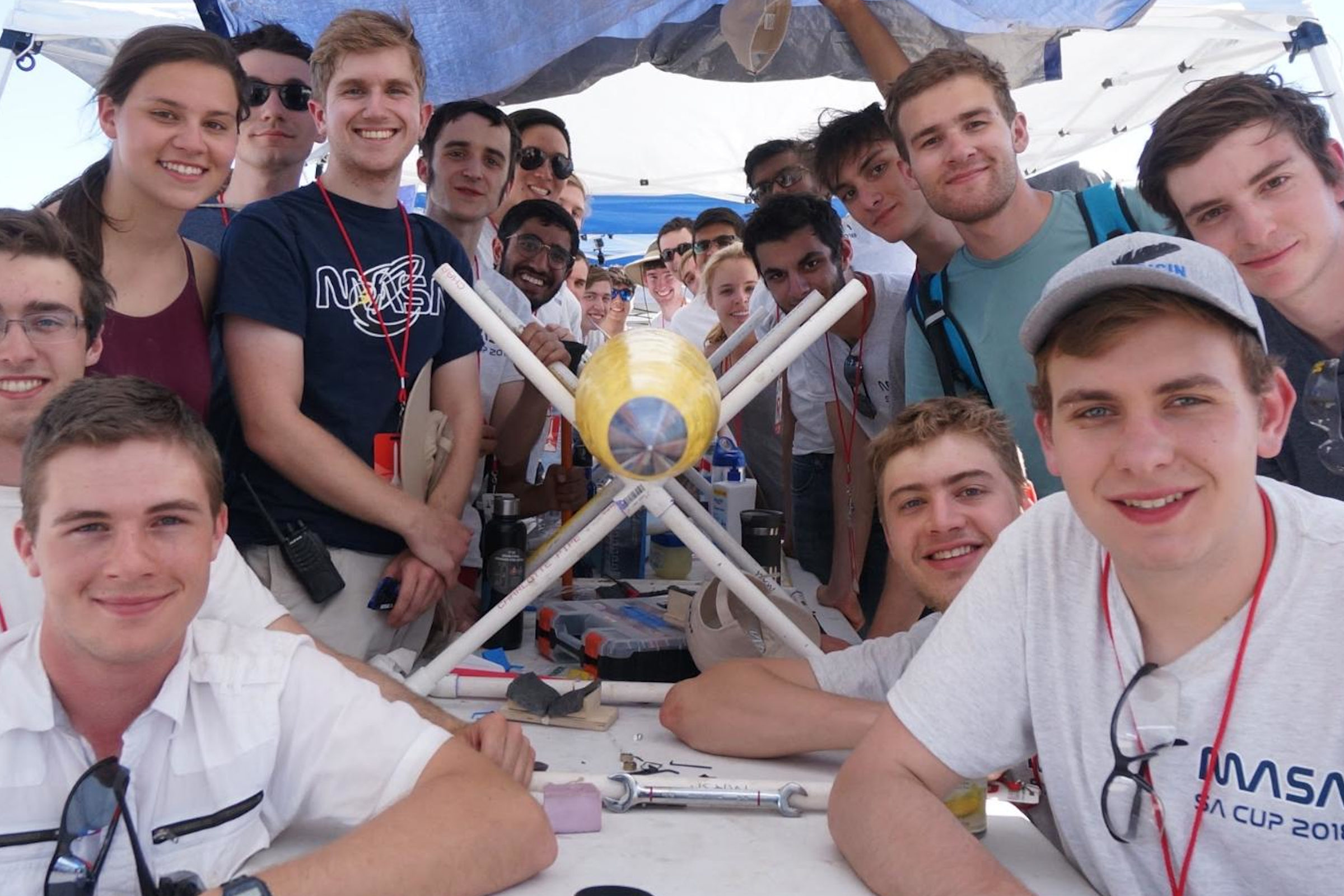 MASA Rocketry Team continues work on space shot rocket despite pandemic