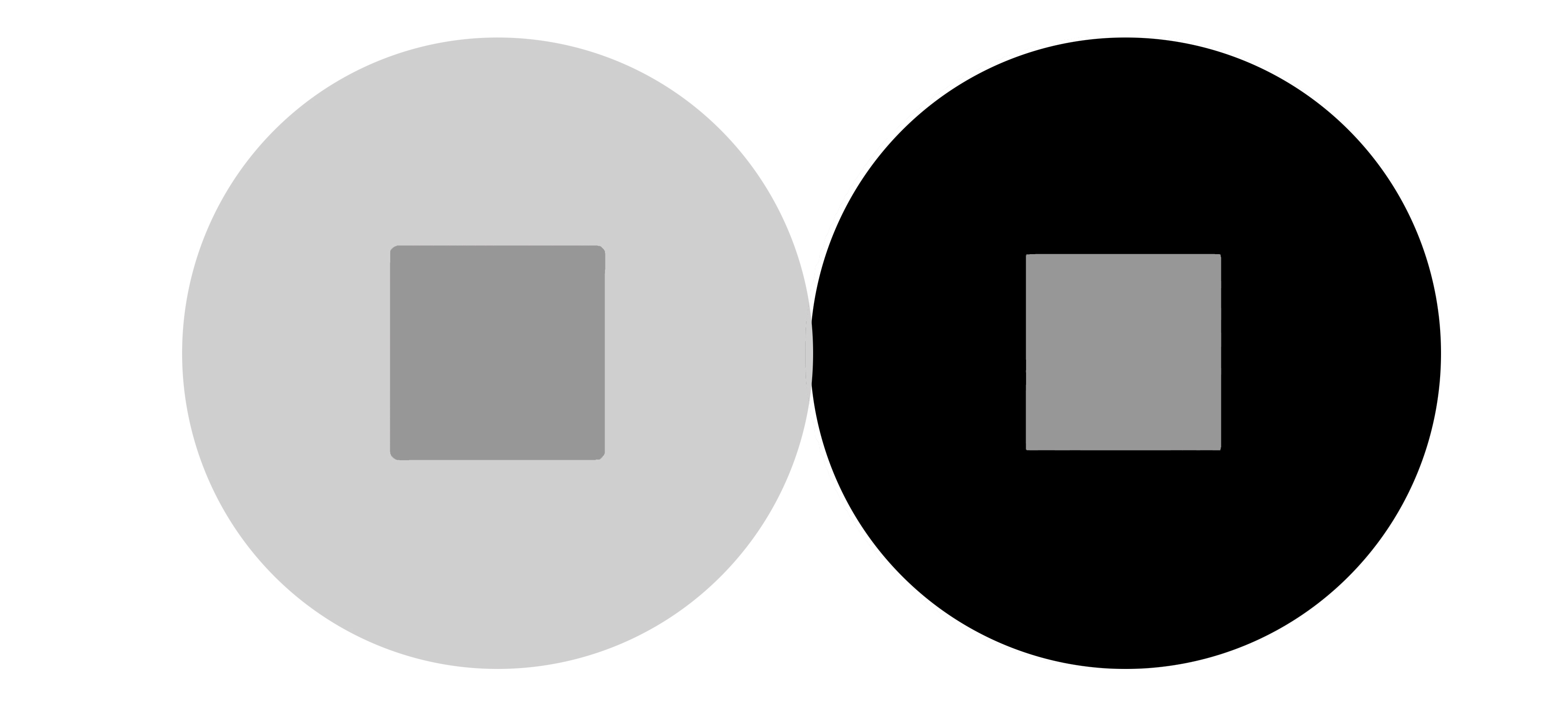 Graphic of a contrast test
