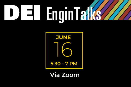 EnginTalks promo event for June 16.