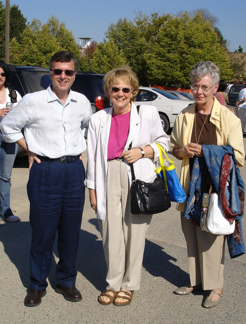 Nikolaos Katopodes, Linda Fink and Rita Teachout