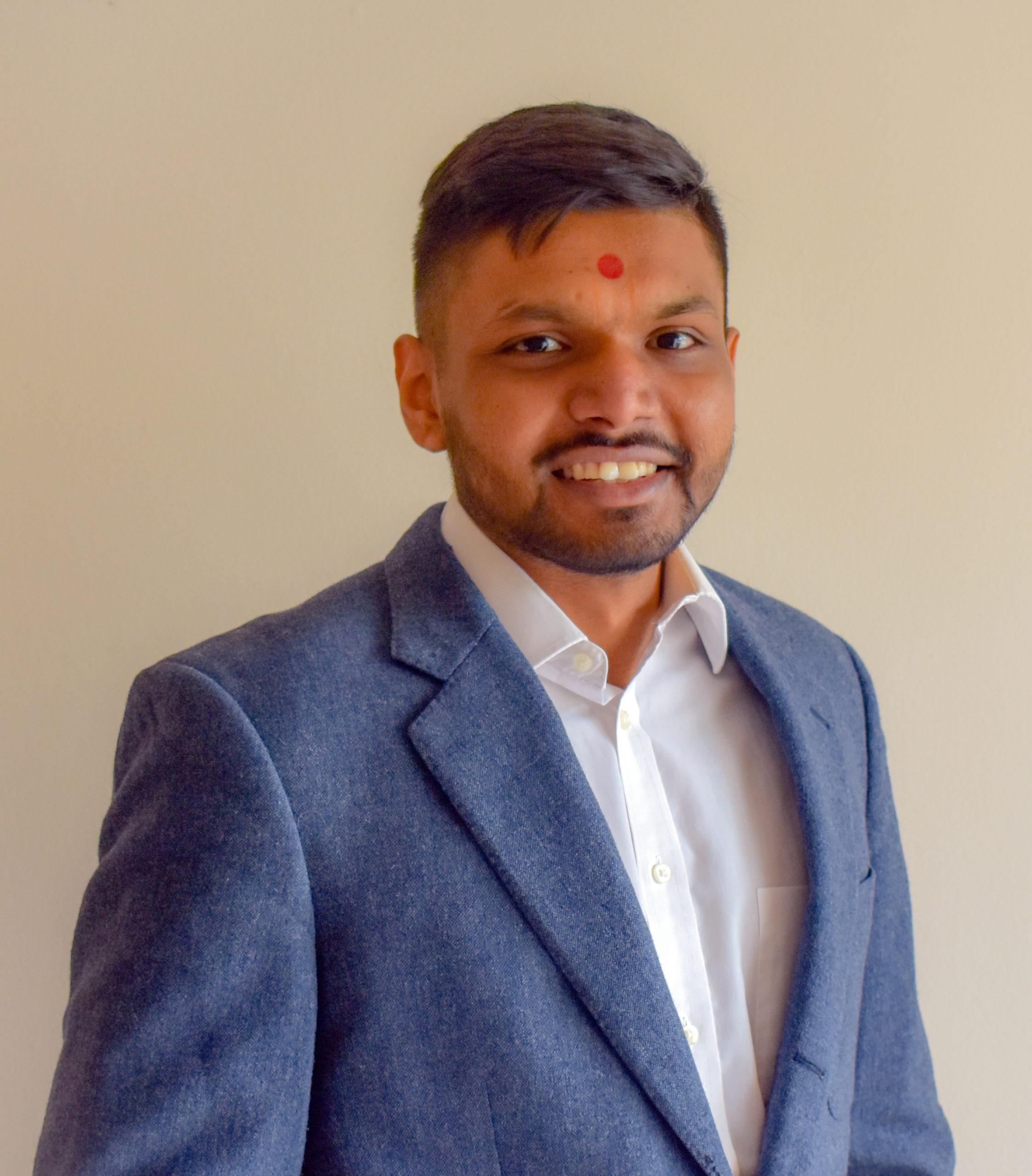 Portrait of Deep Patel