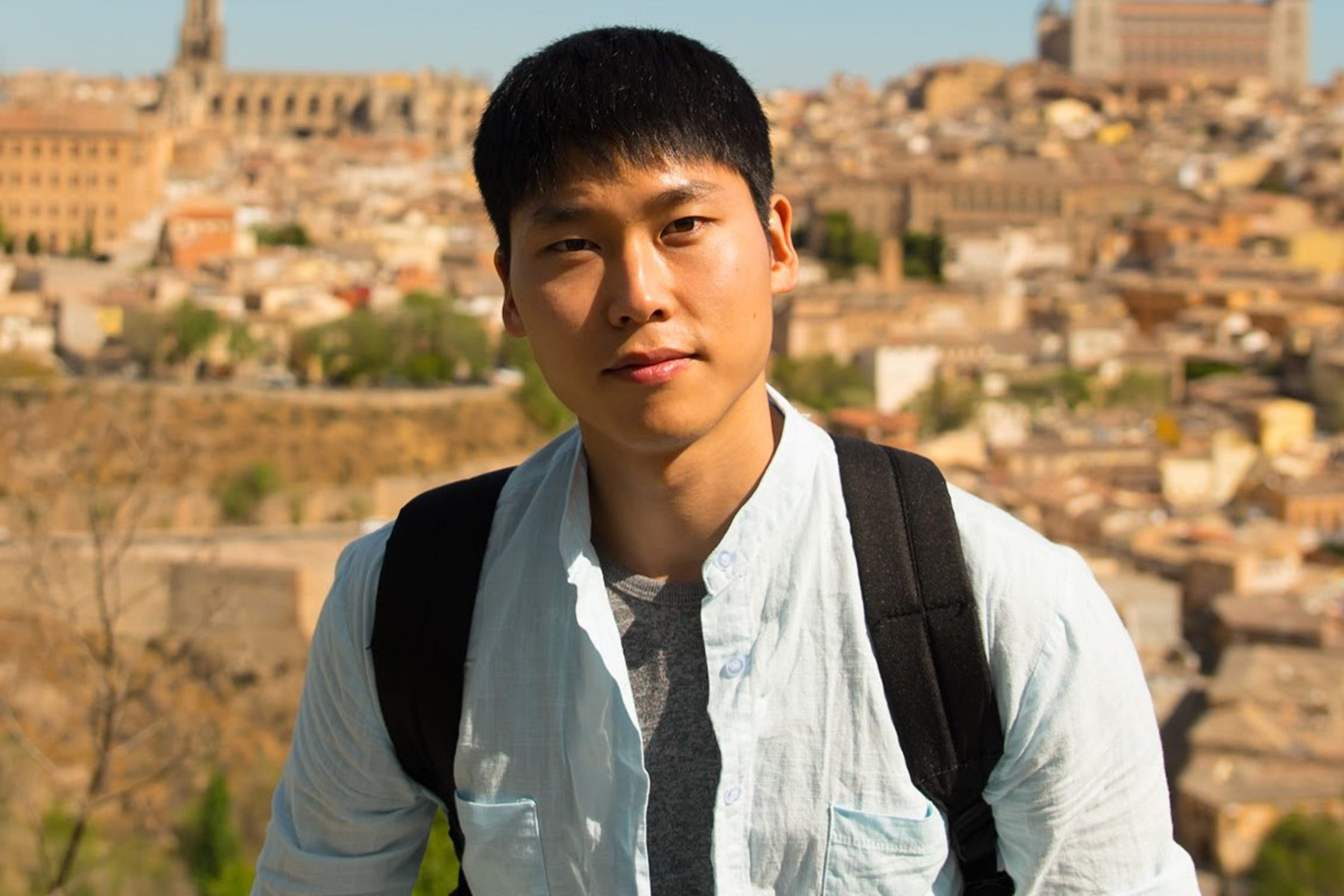 PhD student Gaang Lee receives the Creativeness in Ergonomics Student of the Year Award at the 23rd Applied Ergonomics Conference