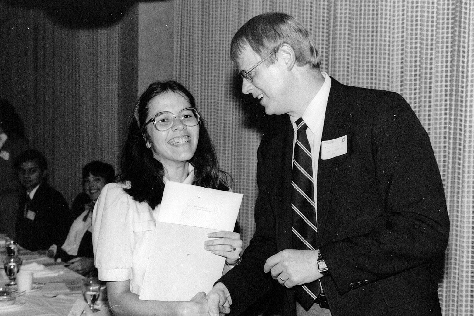 Susan montgomery and James Duderstadt.