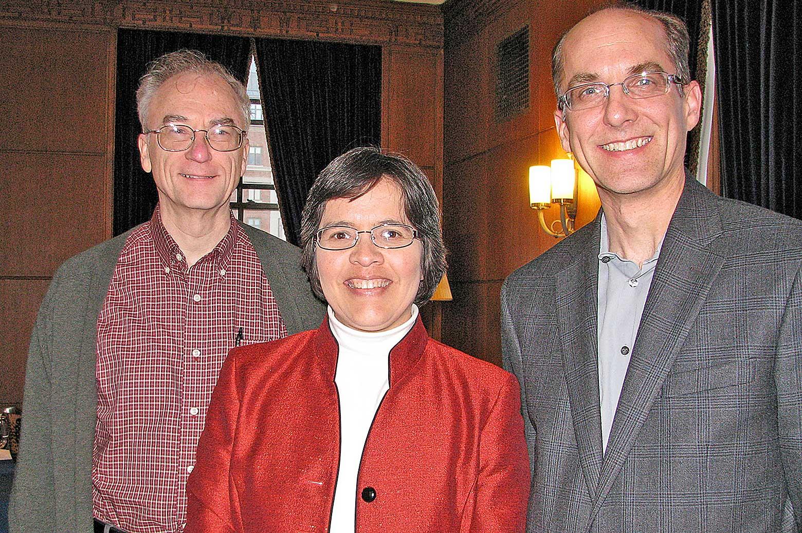 Ron Larson, Susan Montgomery. and Mark Burns