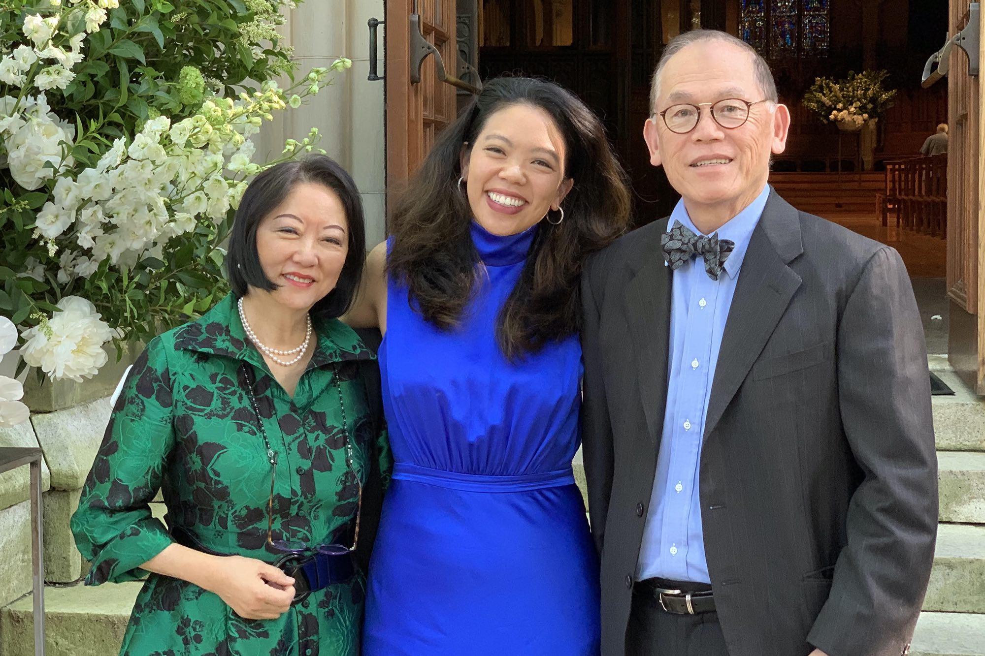 Lily, Alexandra, and Tony Hsu