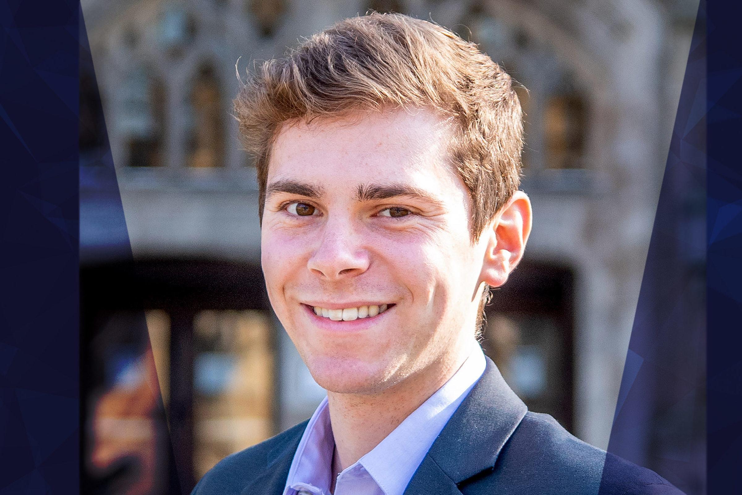U-M Aerospace first-year PhD student, Eytan Adler (BSAE '20) awarded 2020-2021 MICDE Fellowship