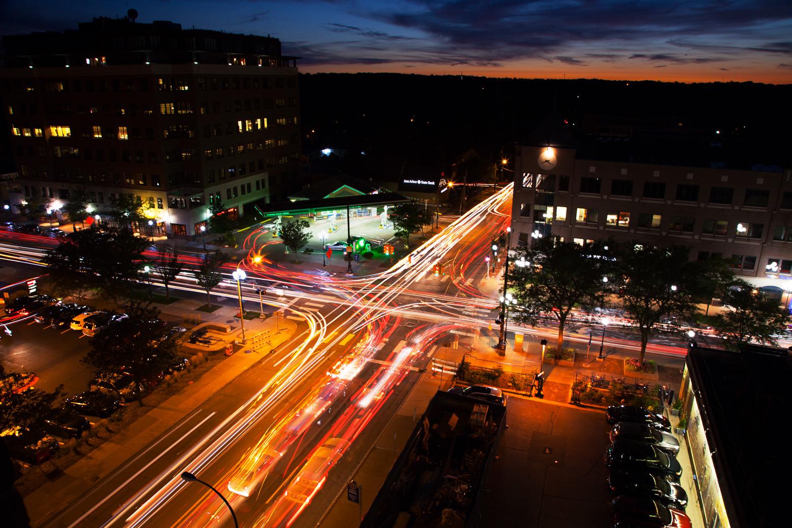 Ann Arbor intersection