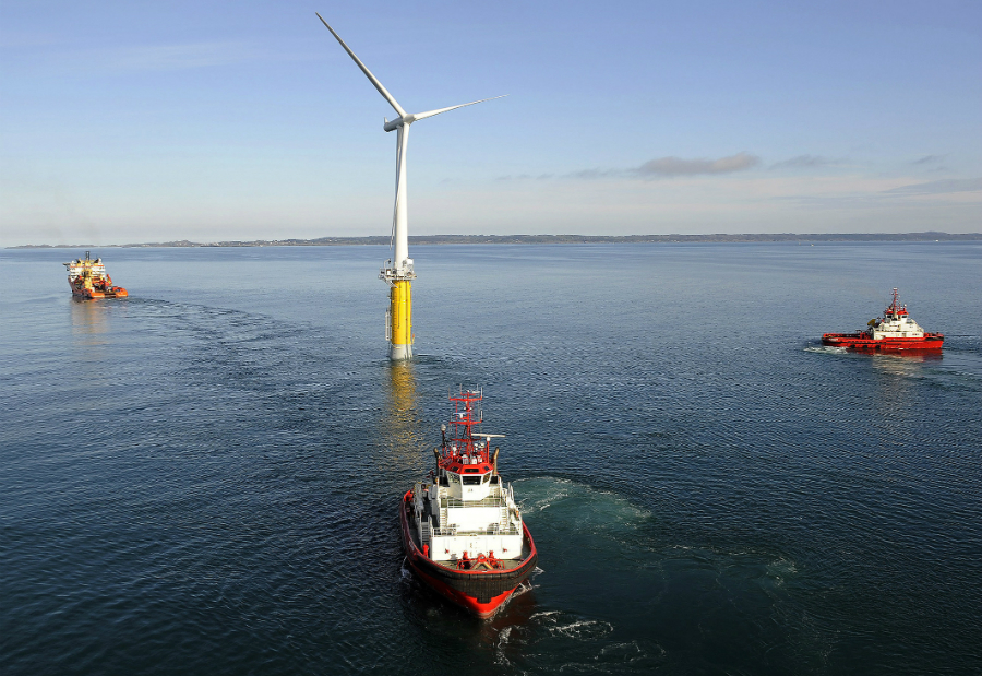 Floating Turbine Siemens