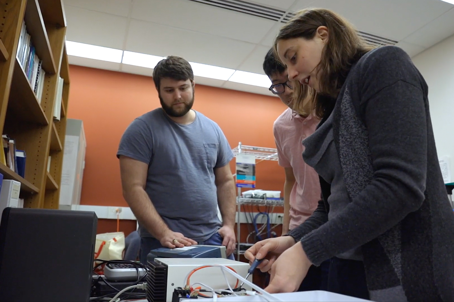 Researchers tinkering with temperature sensors