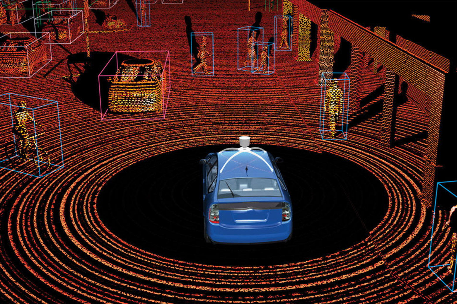 LiDAR sensors and what they see