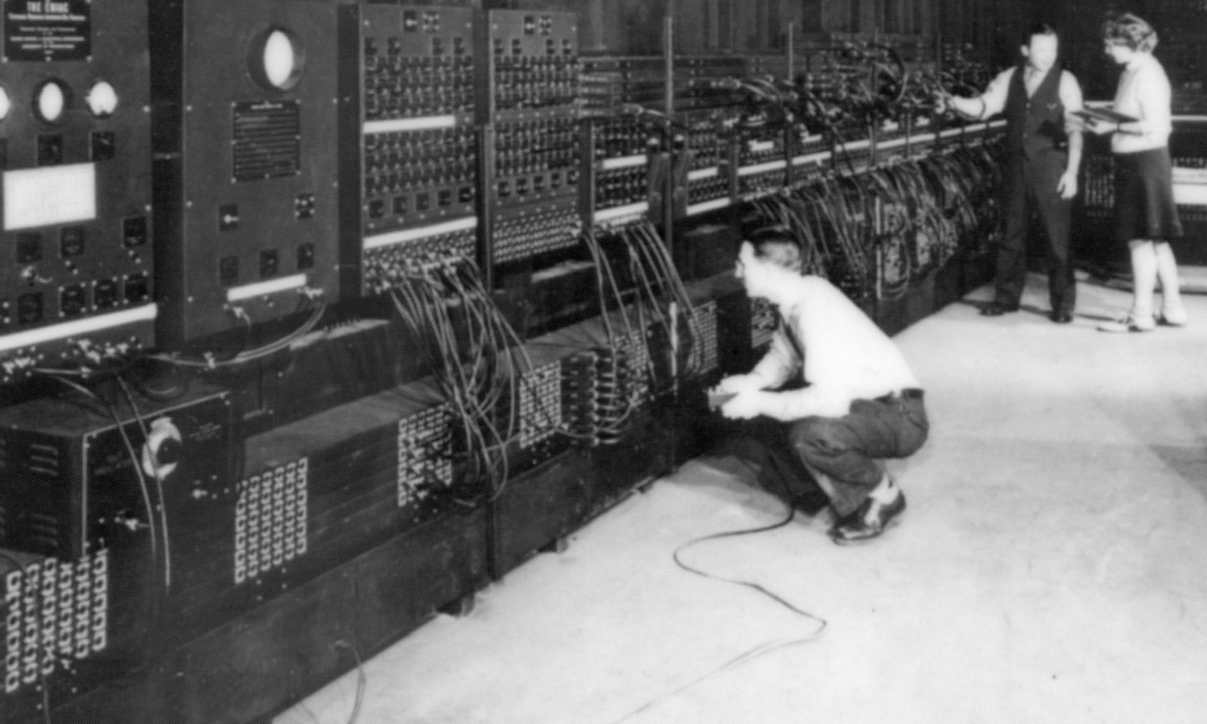 Historic photo of ENIAC