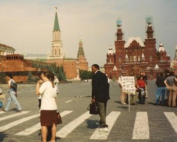 Robert Scott in Russia
