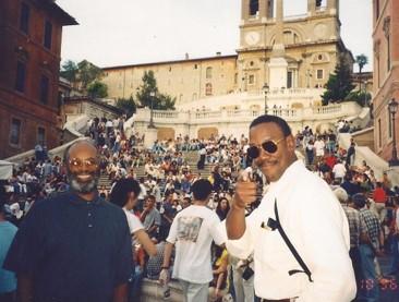 Robert Scott in Rome