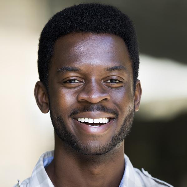 black student smiling