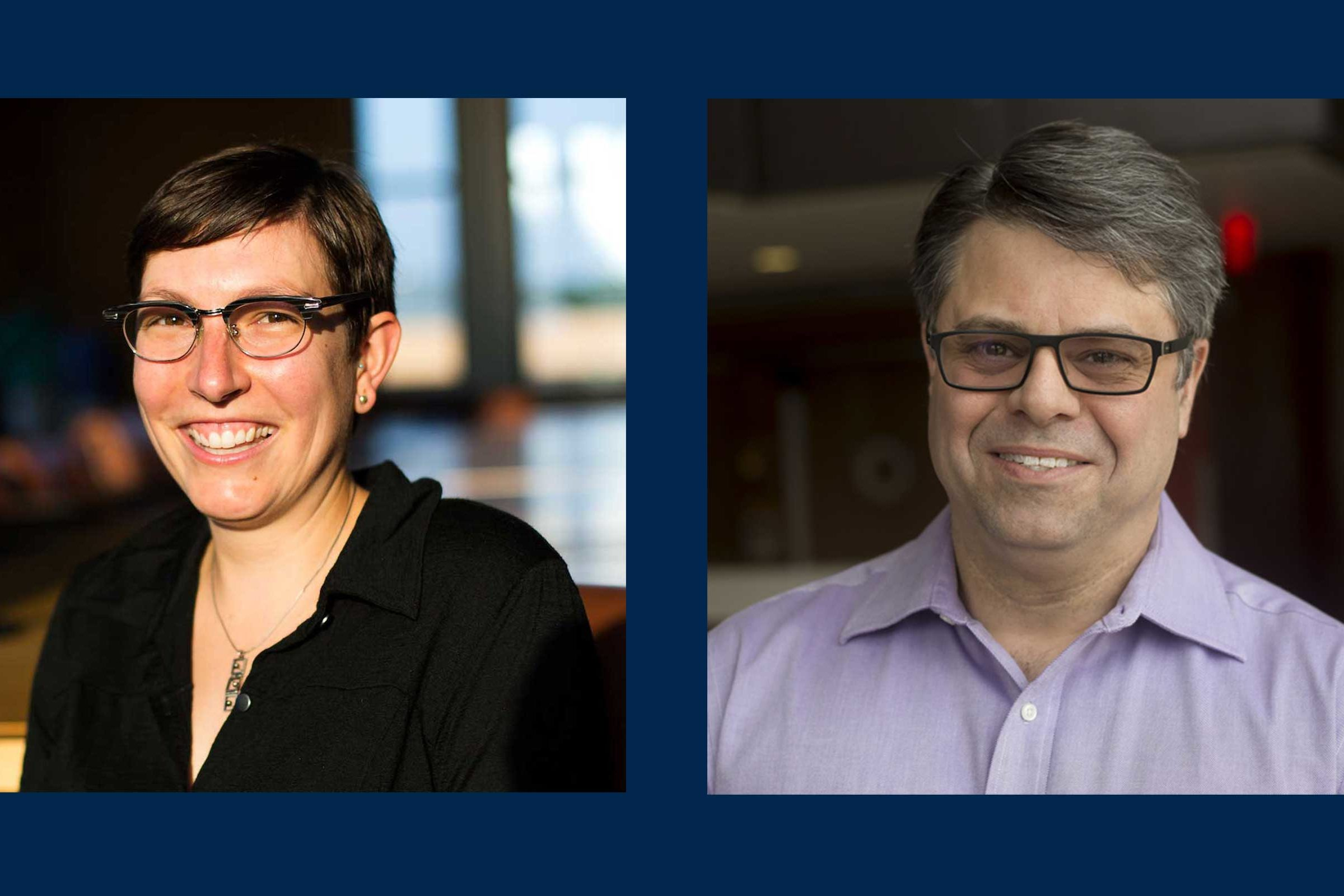 Two Climate & Space faculty receive awards