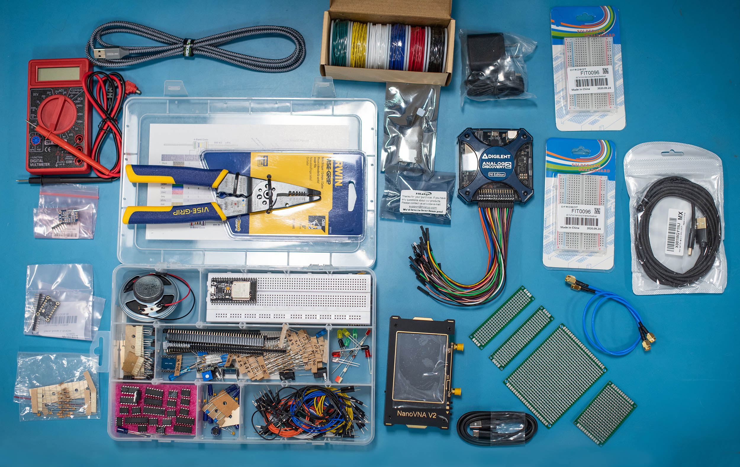 Lab kit from EECS 300