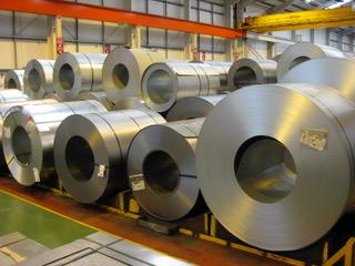 Coils of sheet metal