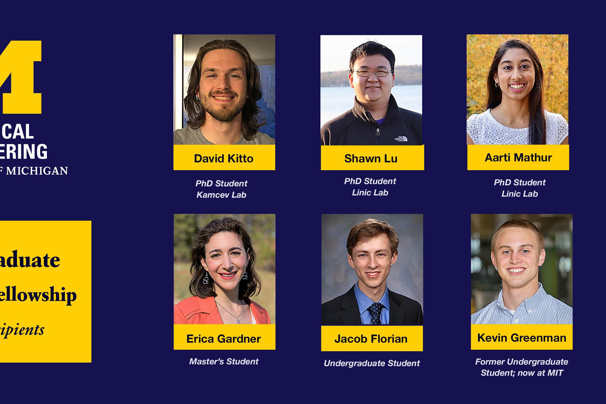 image of 2021 NSF awardees